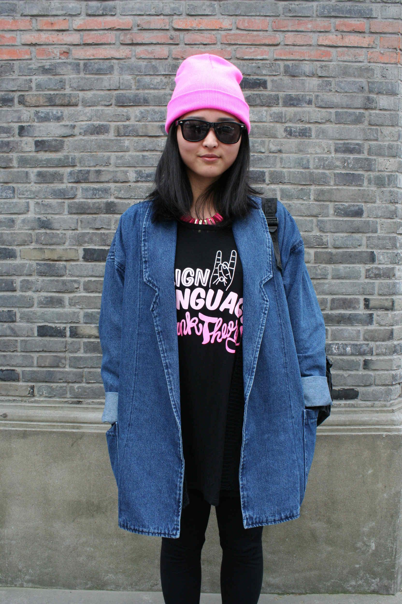 Oversized denim jacket! | Frankielauren's Blog